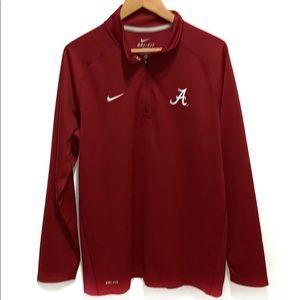 Nike Dri-Fit Alabama 1/4 zip pullover Size Large